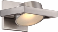 Nuvo 62-994 Hawk Modern Brushed Nickel LED Lamp Sconce