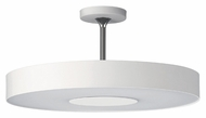 Philips 302063148 Discus Modern White Finish 7.75 Tall Ceiling Light Fixture