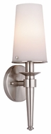 Philips F542736 Torch Modern Satin Nickel Finish 4.25 Wide Wall Sconce