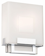 Philips F544336 Square Modern Satin Nickel Finish 8 Wide Lighting Wall Sconce