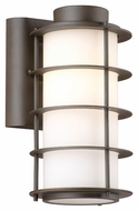 Philips F849768 Hollywood Hills Modern Deep Bronze Finish 5.5  Wide Exterior Light Sconce