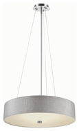 Philips FA0082836 Chelsea Satin Nickel Finish 24  Wide LED Hanging Light Fixture