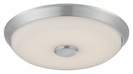 Philips FD0001836 Sleek Satin Nickel Finish 14  Wide LED Overhead Lighting
