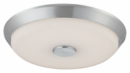 Philips FD0002836 Sleek Satin Nickel Finish 2.75  Tall LED Flush Mount Lighting