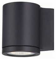 Philips FL0007030 Rox Contemporary Black Finish 4.5  Wide LED Lighting Sconce