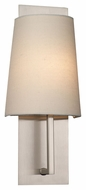 Philips FM0016836 Elise Contemporary Satin Nickel Finish 16 Tall Wall Light Sconce