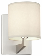 Philips FN0046836 Fisher Island Contemporary Satin Nickel Finish 8.75 Tall Wall Lighting Sconce
