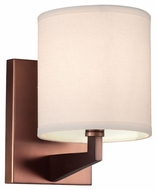 Philips FN0048870 Fisher Island Contemporary Merlot Bronze Finish 8.75 Tall Wall Mounted Lamp