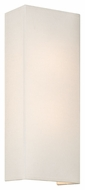 Philips FN0052031 Manhattan Contemporary White Finish 16.625 Tall Wall Light Fixture