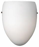 Philips Madison Modern White Finish 8  Wide LED Wall Sconce Light
