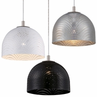 Philips Mesh Modern 5.75  Wide LED Mini Ceiling Pendant Light
