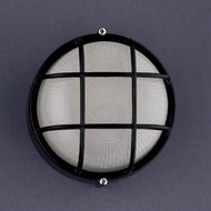 PLC 1222-BK Marine Nautical Black Exterior Light Sconce
