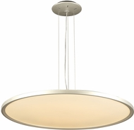PLC 14848AL Thin Modern Aluminum LED Hanging Lamp
