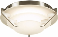 PLC 1542SN Palladium Modern Satin Nickel LED Ceiling Light Fixture