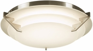 PLC 1544SN Palladium Contemporary Satin Nickel LED Flush Lighting