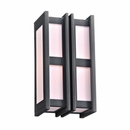 PLC 16632BZ Freeport Modern Bronze Outdoor 7.5  Wall Lamp