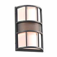 PLC 16656BZ Larissa Contemporary Bronze Exterior Lighting Wall Sconce
