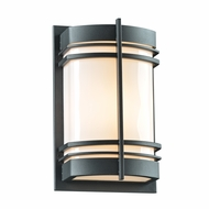 PLC 16675BZ Telford Modern Bronze Outdoor Wall Lamp