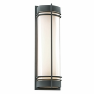 PLC 16677BZ Telford Modern Bronze Outdoor Sconce Lighting