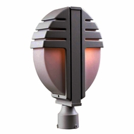 PLC 1831-BZ Synchro Modern Bronze Outdoor Post Light