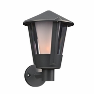 PLC 1886BZ Silva Modern Bronze Outdoor Wall Light Sconce