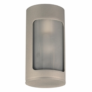 PLC 2046SL Filson Modern Silver Outdoor Ceiling Light