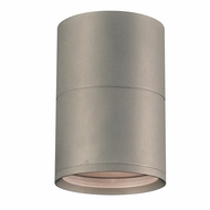 PLC 2048SL Troll Modern Silver Outdoor Ceiling Lighting Fixture
