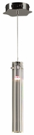 PLC 21182-PC Segretto Contemporary Polished Chrome Halogen Mini Hanging Pendant Light