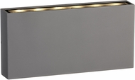 PLC 2130SL Parker Contemporary Silver LED Outdoor Step Lighting