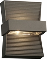 PLC 2260BZ Fiona Modern Bronze LED Exterior Wall Light Sconce