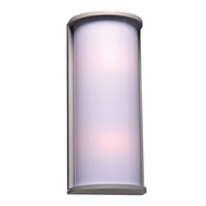 PLC 2708SL Omni Contemporary Silver Outdoor Wall Light Fixture