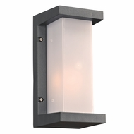 PLC 2710BZ Boston Modern Bronze Exterior Lighting Wall Sconce