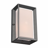 PLC 2715BZ Helmsley Modern Bronze Exterior Wall Sconce Lighting