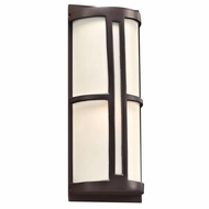 PLC 31736ORB Rox Modern Oil Rubbed Bronze Exterior Wall Sconce Lighting