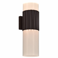 PLC 31742ORB Wallyx Modern Oil Rubbed Bronze Exterior Wall Light Sconce