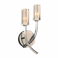 PLC 36668PC Mibo Modern Polished Chrome Light Sconce
