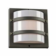 PLC 4044BZ Spa Contemporary Bronze Outdoor Wall Lighting Sconce