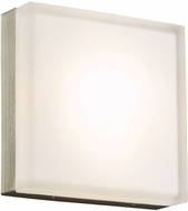 PLC 6575SNLED Praha Contemporary Satin Nickel LED Wall Light Sconce