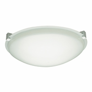 PLC 7000-WH Cloud Contemporary White Fluorescent Ceiling Lighting Fixture
