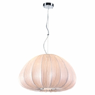 PLC 73004IVORY Dente Contemporary Ivory Pendant Light