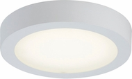 PLC 7422WH Float Modern White LED Overhead Lighting Fixture