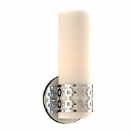 PLC 7566PC Leila Modern Polished Chrome Wall Lighting