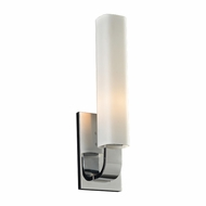 PLC 7591PC Solomon Contemporary Polished Chrome Wall Light Fixture