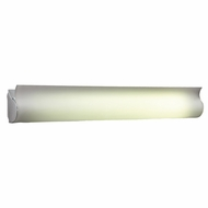 PLC 824-AL Fluoron Aluminum Fluorescent Bathroom Light