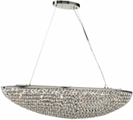 PLC 92916PC Alexa Polished Chrome Halogen Kitchen Island Light Fixture