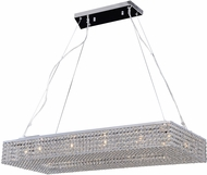 PLC 92919PC Alexa Polished Chrome Halogen Island Lighting