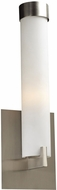 PLC 932SNLED Polipo Modern Satin Nickel LED Wall Sconce Light