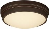 PLC 99900BZLED Turner Modern Bronze LED Flush Mount Lighting