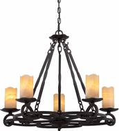 Quoizel AME5005IB Armelle Imperial Bronze Chandelier Light
