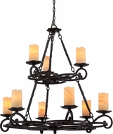 Quoizel AME5009IB Armelle Imperial Bronze Chandelier Lighting